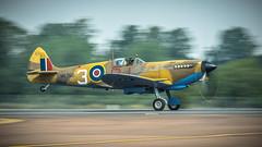 Supermarine Spitfire MkIX (kamil_olszowy) Tags: supermarine spitfire mkix raf warbird riat 2018