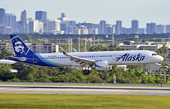Alaska A321 NEO @ FLL (Infinity & Beyond Photography: Kev Cook) Tags: alaska airlines airbus a321 neo aircraft airplane jet airliner fll kfll fortlauderdale airport photos plane n929va