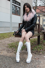 248 (ZoeLinda) Tags: pleaser pleaserheels pleaserusa boots highheels heels stilettos nylons pantyhose legs drag dragqueen tgirl travesti transvestite crossdressing crossdress crossdresser mtf feminization sissy