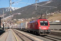 OBB 1016 025 te Matrei am Brenner (vos.nathan) Tags: österreichische bundesbahnen öbb matrei am brenner taurus 1016 025