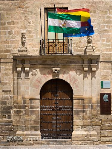 Puerta del IES Santísima Trinidad - Baeza.jpg
