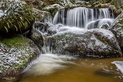 Höllfall - Wasserfall mit Eis (AnBind) Tags: ausflug niederösterreich waldviertel lohn 2019 lohnbachfall naturdenkmal