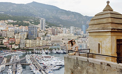 Trip to Europe- Monaco (yuanxizhou) Tags: lights portrait vacation trip mediterranean france marina boat monaco travelphotography europe