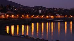 '20.01.11 - Szt.Endre (120) (PennaPrizma) Tags: town szentendre hungary river night light landscape hill