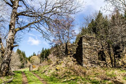 Hameau en ruine