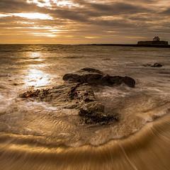 Church in the sea (Twiglet Images) Tags: angelsey church sea seascape seaside seaspray seawater seaweed stone rock wales beach
