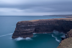 Downpatrick Head (Ronan McCormick) Tags: ilobsterit 2019 64 canon ireland atlantic coast downpatrickhead eire longexposure mayo neutral north ocean patrick saint sea sign stpatrick stack statue wildatlanticway worldwar filter nd landscape seascape