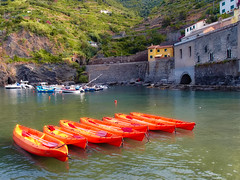 Ready for a trip (irmur) Tags: italy water sea kayak coast