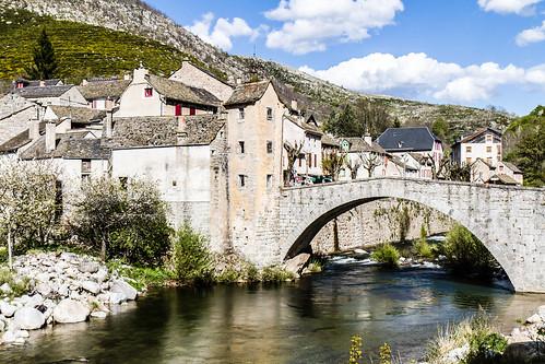 Le Pont de Montvert sur le Tarn