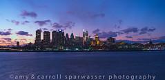 Sun is setting (gardenpower) Tags: philadelphia cityscape nightime clouds camden newjersey delawareriver longexposure