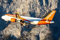 Easyjet G-EZTC 10-1-2020 (Enda Burke) Tags: avgeek aviation airplane airport inn innsbruck easyjet ezy geztc canon canon7dmk2 austria mountain a320 airbusa320 travel takeoff departure airbus