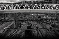 IMG_1964 - The bridge over the rails (ragnarfredrik) Tags: oslo oslos railway rails railwaystation jernbane bridge bro urban