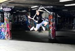160/365 Long live Southbank! Amazing tricks. #SouthbankSkatepark #SouthBank #scootertricks #dailyphoto #project365