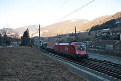 OBB 1016 028 te Matrei am Brenner (vos.nathan) Tags: österreichische bundesbahnen öbb matrei am brenner taurus 1016 028