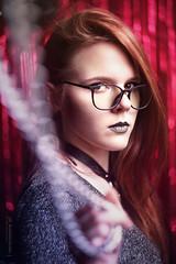 DSC01272 (kolomiichenko.vladyslav) Tags: girl portrait style fashion look view luxury glasses chain boken sony sonyalpha sonya6000 studio vintagelens helios helios44m people face model