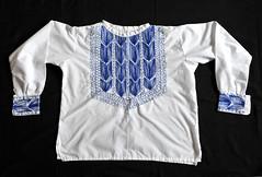 Mexican Fancy Shirt Camisa Chiapas (Teyacapan) Tags: camisa mexicana mexican shirt embroidered chiapas needlework ropa clothing
