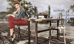 When the words won't come (roxi firanelli) Tags: besom equal10 genusproject belleza swallow tresblah blueberry tlc theliaisoncollaborative razorbird flf lepoppycock slackgirl secondlife