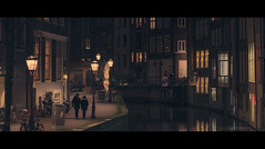 tranquility (Nico Geerlings) Tags: ngimages nicogeerlings nicogeerlingsphotography streetphotography nightphotography nuit mood atmosphere redlightdistrict amsterdam cinematic cinematography