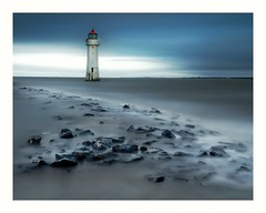 New Brighton Lighthouse, Wirral (busmender1964) Tags: newbrighton perchrocklighthouse lighthouse longexposurephotography longexposure rivermersey seascape