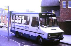 Slide 146-93 (Steve Guess) Tags: hertfordshire herts england gb uk bus iveco daily turbo robin hood premier travel station e353neg