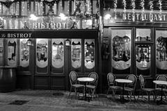 Le Bistrot (un jour j'irai là-bas) Tags: noiretblanc eu rhizome restaurant café bar bernay normandie normandy bistrot