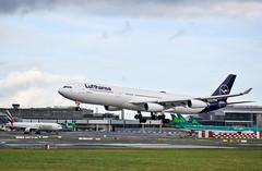 D-AIGU               A340-313         Lufthansa       DLH519 (Gormanston spotter) Tags: a6env gormanstonspotter 2020 eidw airbus avgeek dub dlh519 lufthansa a340313 daigu