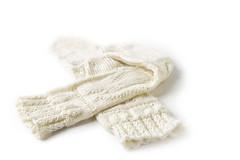 Jan 12 - White socks (hajeka) Tags: 202001 pad knitting sock wool