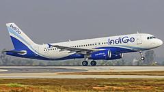 Indigo Airbus A320 VT-INX Bangalore (BLR/VOBL) (Aiel) Tags: indigo airbus a320 vtinx bangalore bengaluru canon60d tamron70300vc