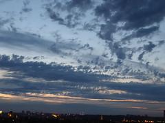 Deepening dusk (seikinsou) Tags: brussels belgium bruxelles belgique summer sunset skyline sky cloud dusk atomium