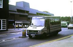 Slide 146-95 (Steve Guess) Tags: hertfordshire herts england gb uk bus iveco daily turbo robin hood premier travel station e353neg