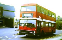 Slide 146-88 (Steve Guess) Tags: hertfordshire herts england gb uk bus london buses northern mcw metrobus station vrg419t