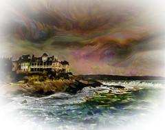By the Sea (Rusty Russ) Tags: ocean wave sky sea water cloud hotel cape neddick york maine colorful day digital flickr country bright happy colour scenic america world sunset red nature blue white tree green art light sun park landscape summer old new photoshop google bing yahoo stumbleupon getty national geographic creative composite manipulation hue pinterest blog twitter comons wiki pixel artistic topaz filter on1 sunshine image reddit tinder russ seidel facebook timber unique unusual fascinating
