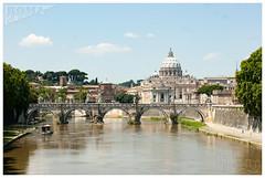 Rome_2013_DSC05305 (KptnFlow) Tags: italie italia rome roma santangelo pont saintange bridge ponte basilique saint pierre basilica san pietro