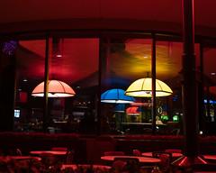 Electric Umbrella (Peter E. Lee) Tags: orlando futureworld waltdisneyworld neon fl electricumbrella epcot restaurant disney 2020 wdw winter florida unitedstatesofamerica