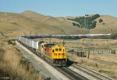 ATSF 7486 West at Collier, CA (thechief500) Tags: atsf bnsf railroads stocktonsubdivision santaferailway ca franklincanyon b367
