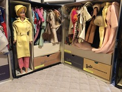3. Barbie storage (Foxy Belle) Tags: doll keeping organization vintage barbie case cardboard make diy storage