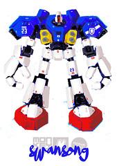 Mobile Suit Swansong (m_o_n_k_e_y) Tags: lego moc gundam scifi