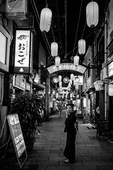 Nagasaki - Shianbashi (-dow-) Tags: shianbashi 思案橋 giappone japan nagasaki 長崎 日本 kyushu monochrome fujifilm x70