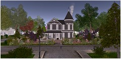 Now That's A House! (Sivyaleah (Elora)) Tags: bellisseria shelby victorian house linden bandstand impressive garden virtual home decor landscape