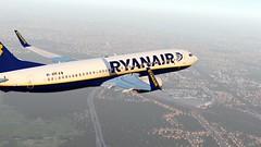 b738 - 2020-01-12 21.02.37 (Rell Brown) Tags: ryanair xp11 xplane b737 b738 737ng 737800 eastern southwest