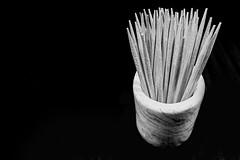 Teeny tiny wooden stakes