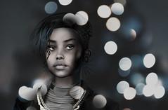 My muse in the cloud V/V (milena carbone) Tags: 3d art avatar blackandwhite bw blur glitter face portr africa girl woman drawing illustration secondlife secondlifeart secondlifephotography slart slphoto slphotography virtual world