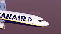 b738 - 2020-01-12 20.48.46 (Rell Brown) Tags: ryanair xp11 xplane b737 b738 737ng 737800 eastern southwest