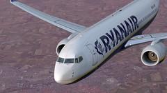 b738 - 2020-01-12 20.33.59 (Rell Brown) Tags: ryanair xp11 xplane b737 b738 737ng 737800 eastern southwest