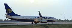 b738 - 2020-01-12 18.52.36 (Rell Brown) Tags: ryanair xp11 xplane b737 b738 737ng 737800 eastern southwest
