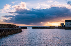 Photo of Interesting skies from Cellardyke Harbour