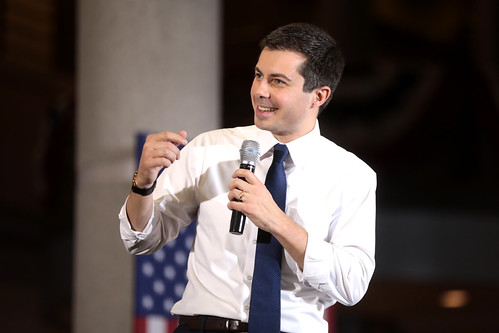 Pete Buttigieg by Gage Skidmore, on Flickr