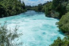 Down the Waikato River (fate atc) Tags: 200000literspersec hukafalls laketaupooutflow nz newzealand northisland taupo waikato waikatoriver water rapid waterfall