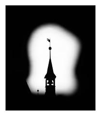 city hall tower (Armin Fuchs) Tags: arminfuchs lavillelaplusdangereuse würzburg rathaus cityhalltower hole silhouette 6x7