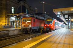 DB 143 292 + 442 734 Nürnberg Hbf (daveymills37886) Tags: db 143 292 442 734 nürnberg hbf baureihe